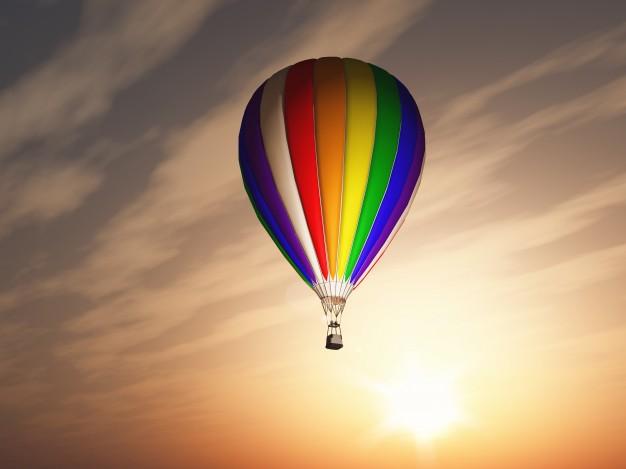 Oferta globo para dar un paseo entre las nubes